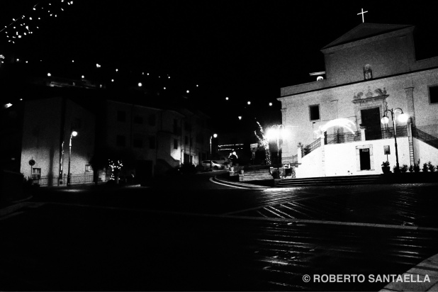 Santommena, provincia de Salerno, pueblo que me recibe.